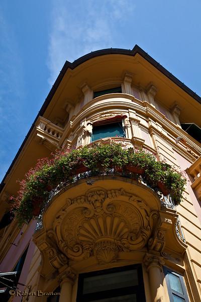 Building Adornment in Rapallo