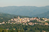 Tuscany-- midday view of Barga from Resort- IL Ciocco, Castelvecchio Pascoli · Barga, Lucca