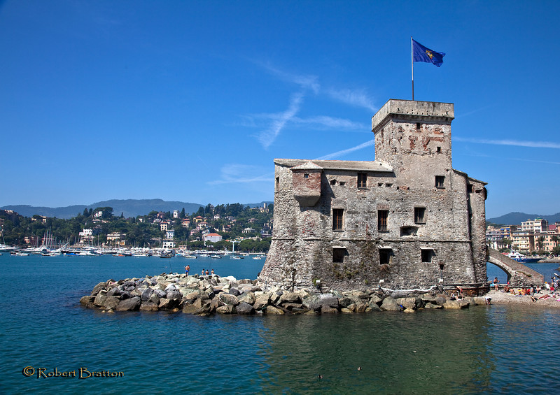 Pirate Lookout in Rapallo