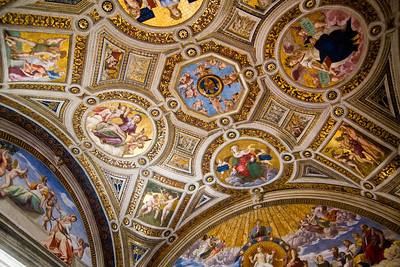 Room of the Signature, painted by Raphael Vatican Museum Vatican City, Italy