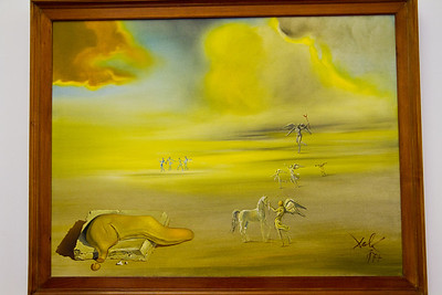 Angelic Landscape, painted by Salvador Dalí (1977) Vatican Museum Vatican City, Italy