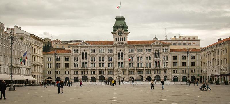 Trieste: Piazza Unita d'Italia