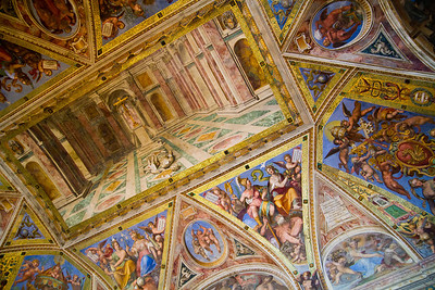 Room of Constantine, painted by Raphael Vatican Museum Vatican City, Italy