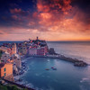 Vernazza Sunset, Cinque Terre (Italy)