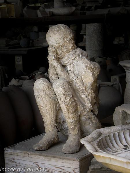Pompeii, body cast