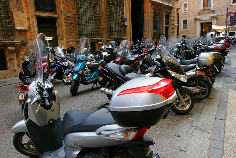 Motorcyles Everywhere, Roma