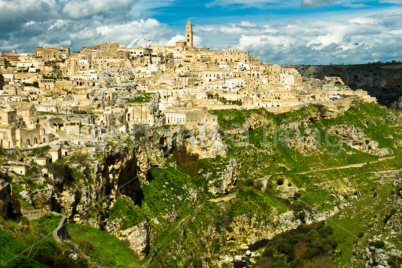Matera-a city in Basilicata which has been inhabited for 9000 years