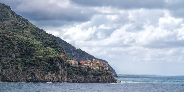View of Manarola from Corniglia