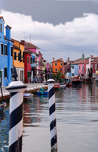 Clouds over Burano