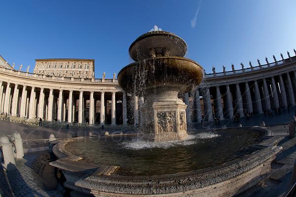 Piazza San Pietro, Vatican City Italy