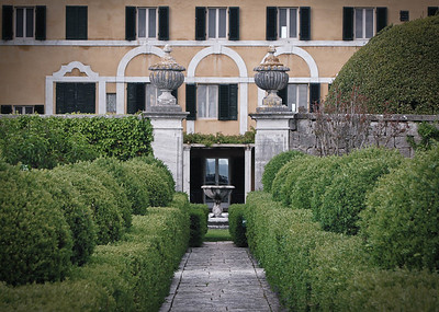 La Foce - main villa from the gardens