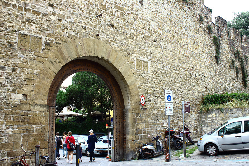 The old wall around Florence.