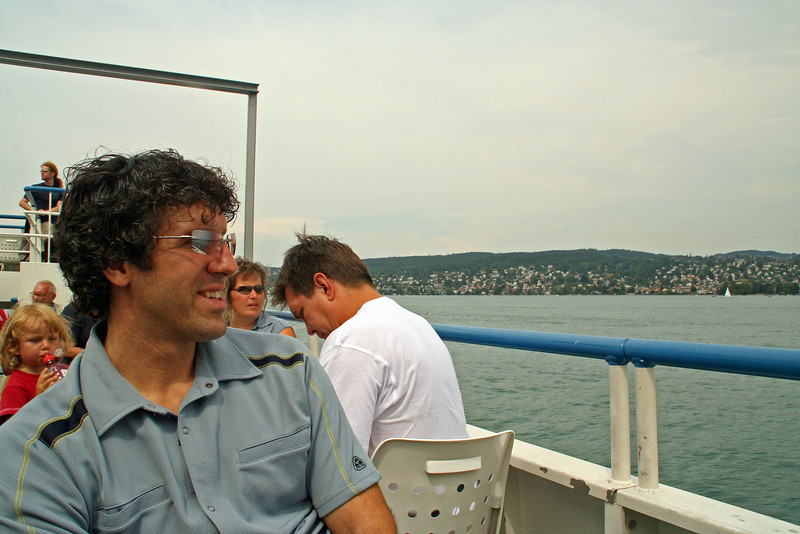 Touring Lake Zurich