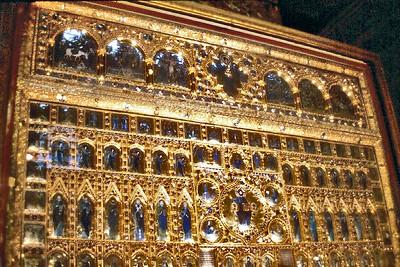 Behind the altar St Marc basilica Venice Italy - Jan 1979