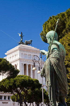 Caesar and Vittorio Emanuelle