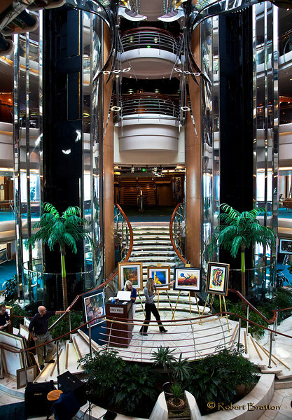 Art Auction on the Legand of the Seas