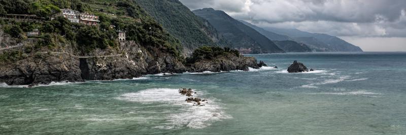 Cinque Terr Coastline