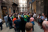 Siena--on the way to Palio di Siena.