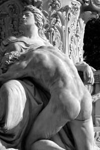 Rome - Goethe Monument, Iphegenia & Orestes