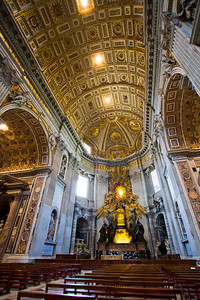 St. Peter's throne St. Peter's Basilica Vatican City, Italy