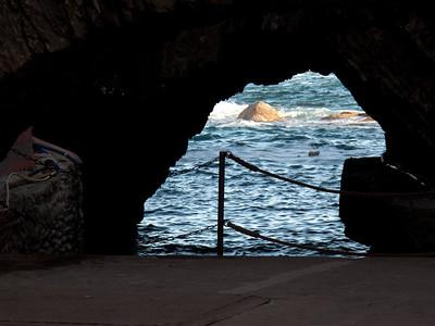 View from Pedestrian Tunnel, Monteroso al Mare, Cinque Terre