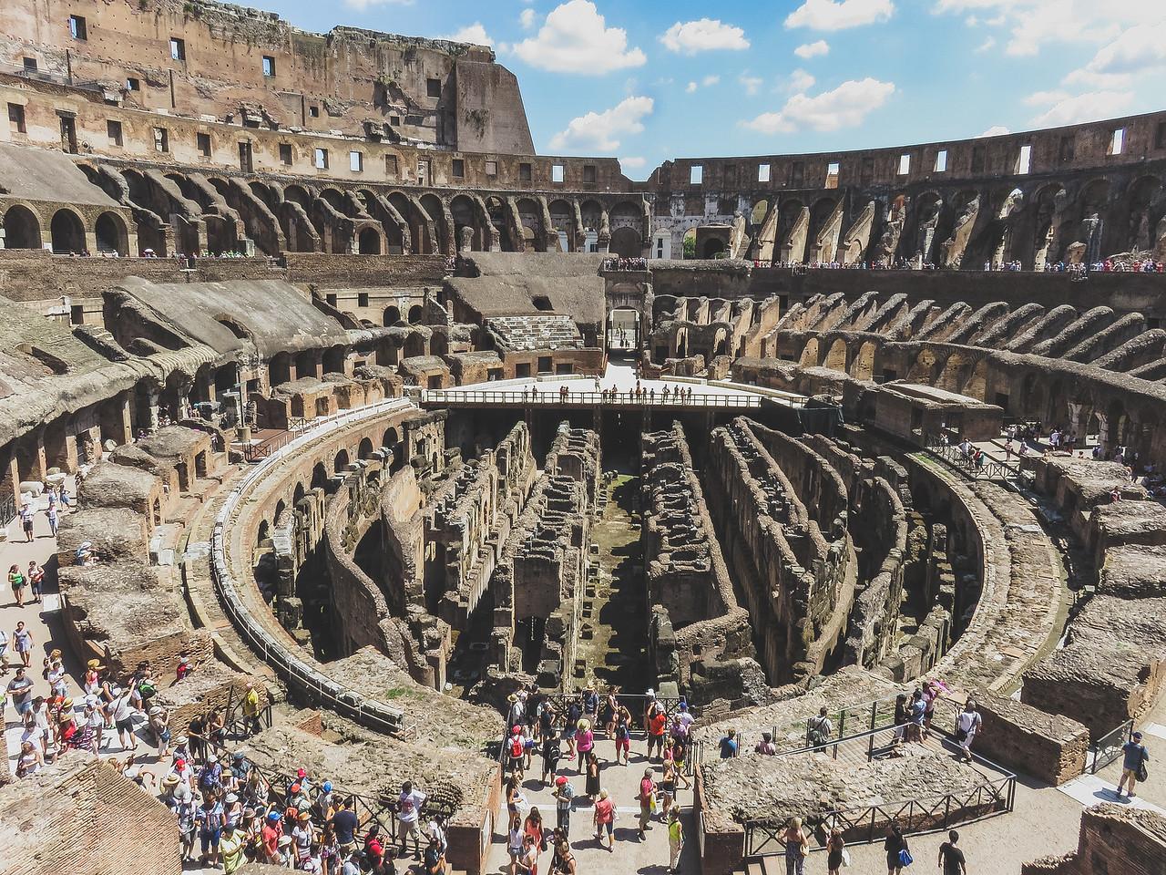 The breath taking Colosseum in Rome