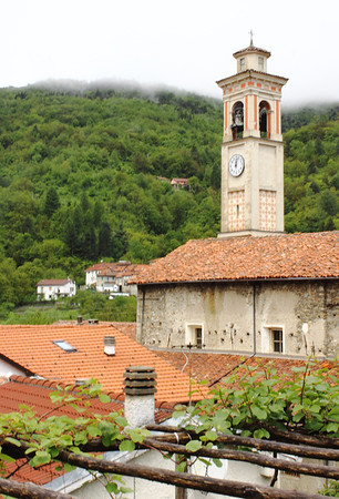 My great grandfather Angelo Icardo was baptised in 1877 in Santo Antonio church in the Valle section of Murialdo, where the Icardo families still live.