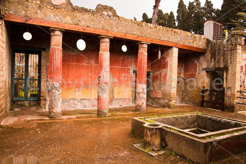 Herculaneum-Casa del Rilievo di Telefo