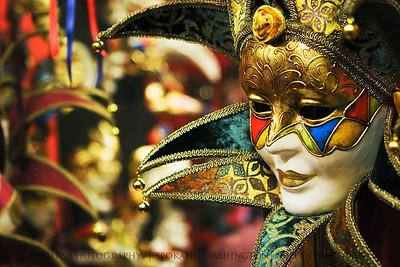 Joker.  Venice, Italy.