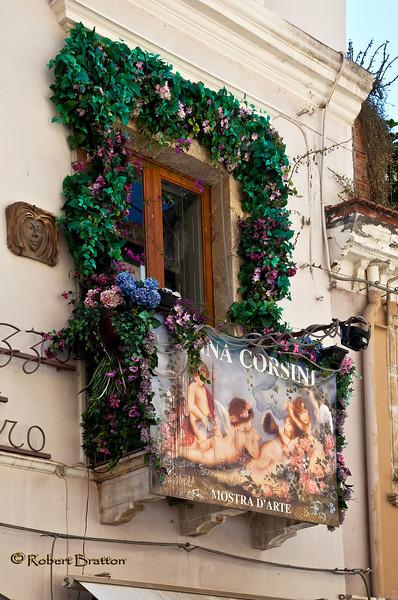 Window in Taormina