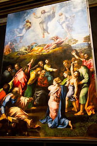 The Transfiguration (1516-1520) Vatican Museum Vatican City, Italy