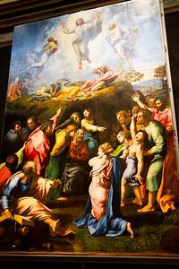 The Transfiguration (1516-1520) Vatican Museum Vatican City, Italy