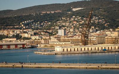 Trieste: Molo San Carlo