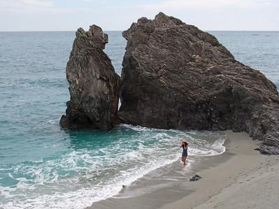 Fegina Beach, Monteroso al Mare, Cinque Terre