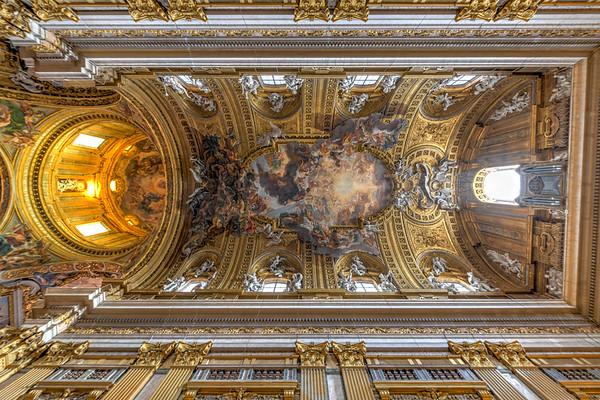 Church of the Gesu - Rome, Italy