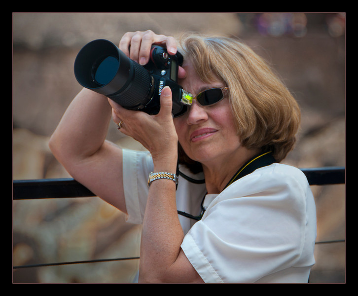 What is Margie looking at in the Colosseum? 9/2011