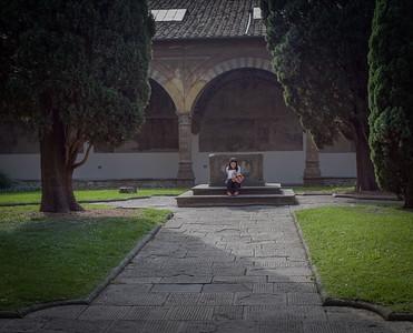 Florence: Santa Maria Novella, cloister
