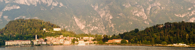 Panorama of Bellagio, Lake Como