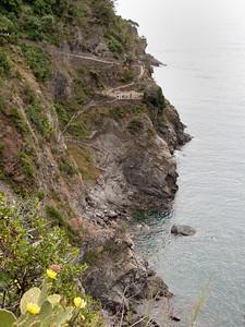 Manarola Beach Access, Cinque Terre