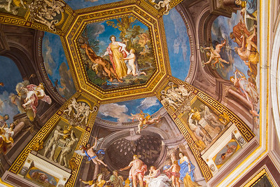 The Room of the Muses Vatican Museum Vatican City, Italy