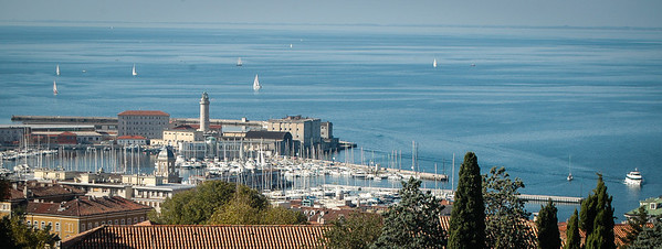 Trieste: marina and Gulf of Trieste
