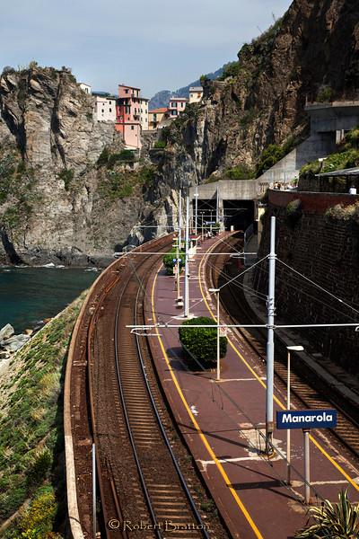 Rails to Manarola