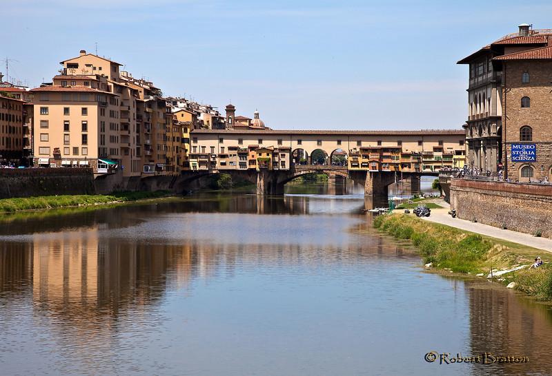 Ponte Vecchio (old Bridge) in Florence