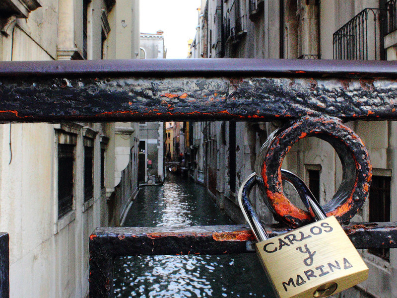 People throw away the key in Venice.