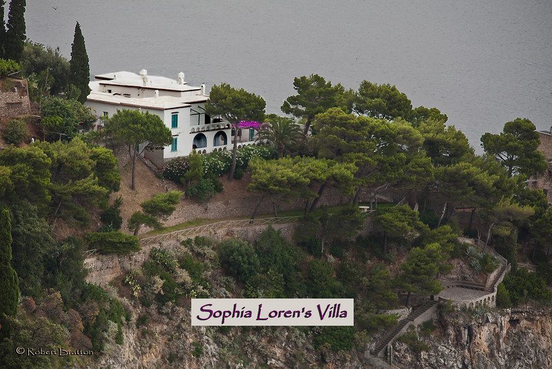 Sophia Loren's House on the Amalfi Coast