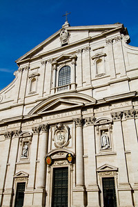 Church of St. Ignatius Rome, Italy