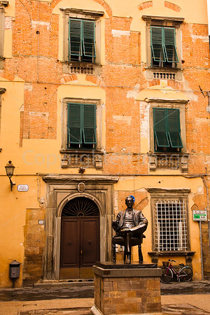 Puccini's house in Lucca