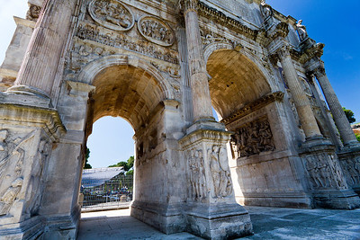 Arch of Constantine Rome, Italy
