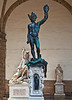 """Perseus"" by Cellini in Signoria Square"