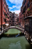 Arched Bridge in Venice